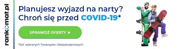 Ubezpieczenie dla narciarzy z opcją Covid-19