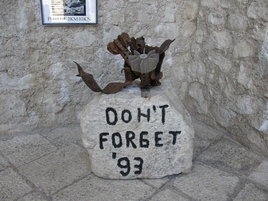 Mostar Nigdy nie zapomnimy!
