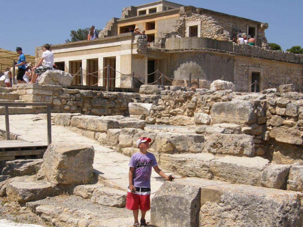 Pałac króla Minosa w Knossos