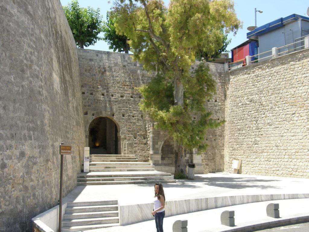 Heraklion Kreta Brama Św. Jerzego