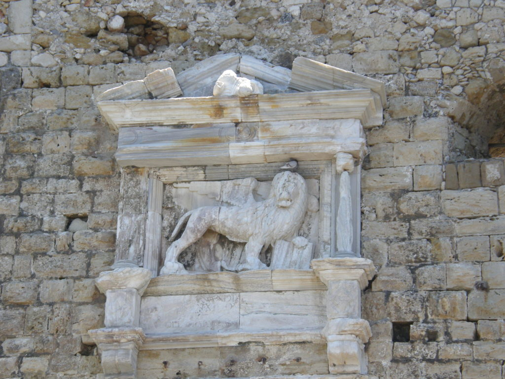 Lew św. Marka ze skrzydłami - symbol Republiki Weneckiej