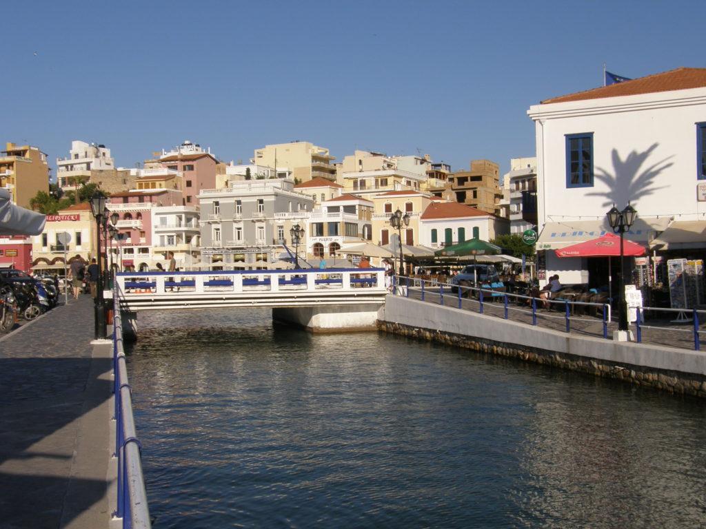 Agios Nikolaos - jezioro Voulismeni
