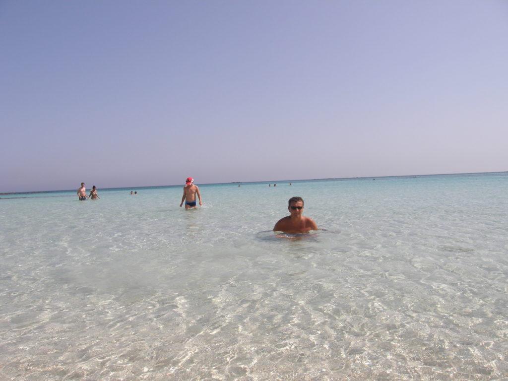 Kreta - plaża Elafonisi