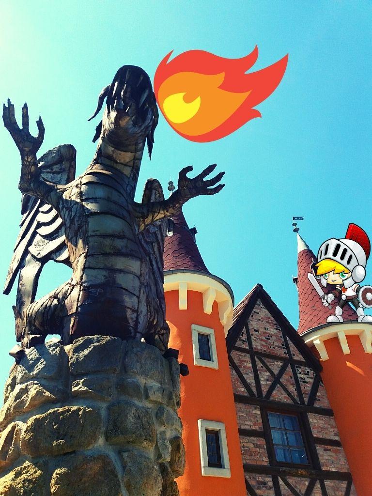smok wawelski w zamek legend śląskich