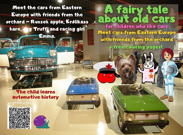 fairy tale kids car