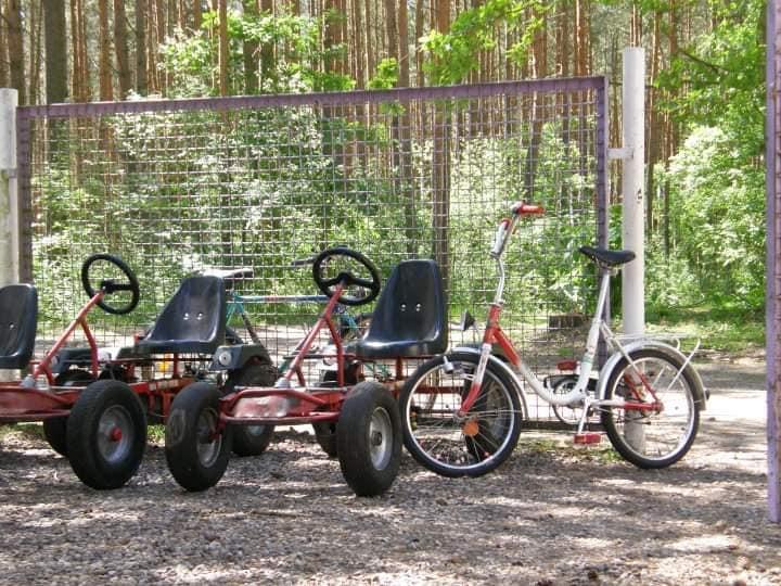 Raj dla dzieciaków - dinocary i rowery