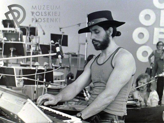 Czesław Niemen fot. R. Labus /arch. Muzeum Polskiej Piosenki/